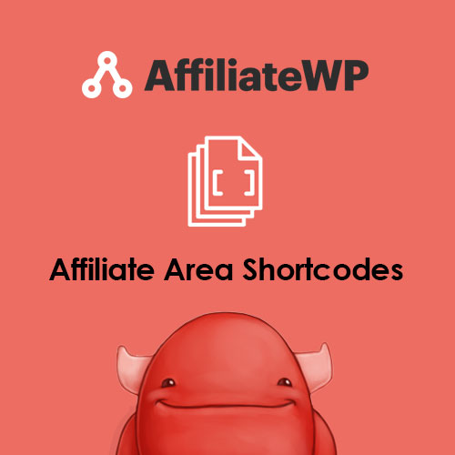 AffiliateWP - Affiliate Area Shortcodes