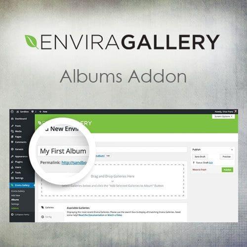 Envira Gallery – Albums Addon