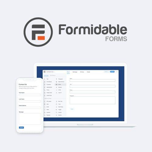 Formidable Forms Pro WordPress Form Builder Plugin