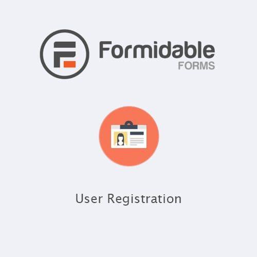 Formidable Forms User Registration