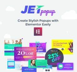 JetPopup For Elementor