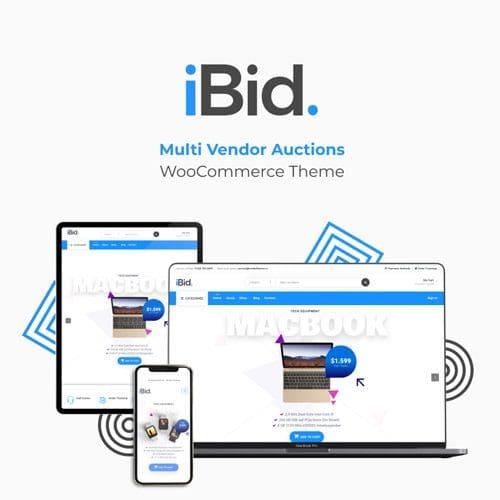 IBid - Multi Vendor Auctions WooCommerce Theme - ThemeVN