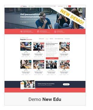 Một số demo Eduma Theme - New Edu