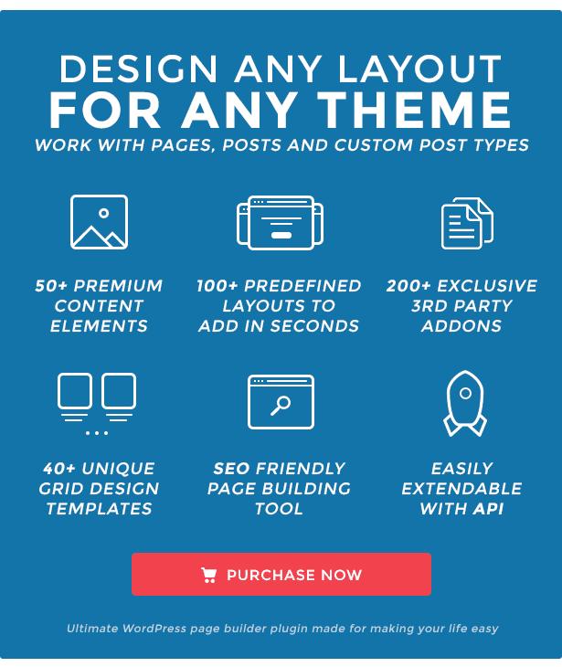 Thiết kế mọi trang web với Visual Composer Page Builder