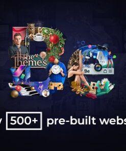 Hơn 500 mẫu thiết kế trong BeTheme
