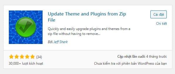 Cách cập nhật Plugin & Theme khi không có license key