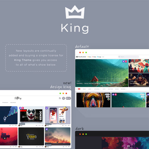 King - WordPress Viral Magazine Theme - ThemeVN