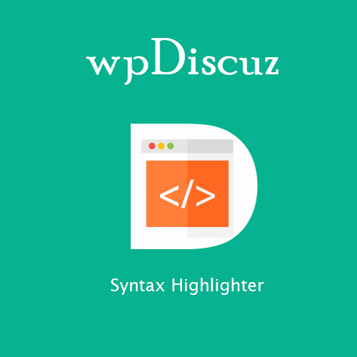 wpDiscuz - Syntax Highlighter