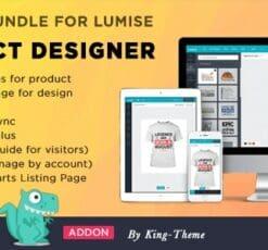 Addons Bundle for Lumise Product Designer
