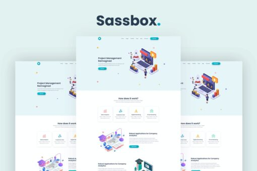 Sassbox - Startup and SaaS Template