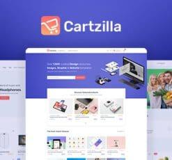 cartzilla digital marketplace grocery store wordpress theme
